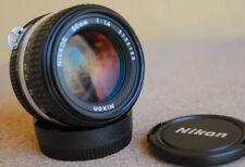 Nikon Nikkor 50mm F1.4 AI-S manual focus lens film/digital 50 mm F/1.4 EXC AI-S
