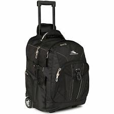 High Sierra Wheeled Backpack Black 58002-1041