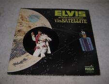 Elvis Presley Aloha From Hawaii Via Satellite Vintage Vinyl 2LP Record Album