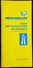 MICHELIN 1971 PAPER MAP BOOKLET ATLAS des AUTOROUTES de FRANCE 1:200 000 1st Edn