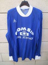 Maillot LE COQ SPORTIF CGEE ALSTHOM COMSIP porté n°8 années 80 shirt trikot XL