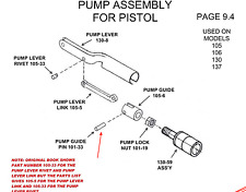 "Crosman Pump plunger Guide Pin""101-33"" 100 101 105 106 130 137 140 147 - 8142"