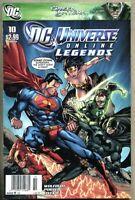 DC Universe Online Adventures #10-2011 vg/fn 5.0 Newsstand Variant Cover JLA