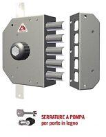serratura di sicurezza Dx CR 3200 serrature antifurto con cilindro a pompa