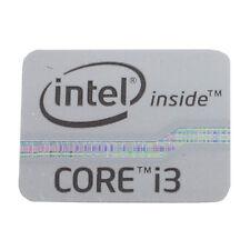 Intel inside CORE i3 Sticker - Aufkleber silber