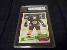 1980-81 OPC O-Pee-Chee #140 Ray Bourque Rookie Boston Bruins - KSA 8.5 NMM+