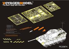 Voyager PE35874 1/35 German King Tiger (Hensehel Turret) Detailing Set For MENG