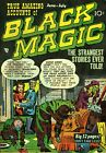 Black Magic 05 Comic Book Cover Art Giclee Reproduction on Canvas