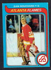Dan Bouchard #28 signed autograph auto 1979-80 Topps Hockey Trading Card