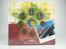 *** EURO KMS FRANKREICH 2005 Souvenir Set La Tour Eiffel Weinklassifizierung ***