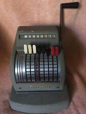 Speedrite Check Register/Adding  Machine . Hall-Welter Co. Rochester NY
