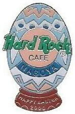 Hard Rock Cafe NAGOYA 2000 EASTER PIN Lite Blue & White Easter EGG - HRC #6110