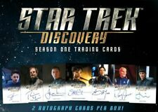 2 x Star Trek Discovery Season 1 Trading Card Box + Promo P1 and P2