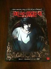 DEATH NOTE PARTE 2 - 3 DVD - EPISODIOS 14 A 23 - 325 MIN - SELECTA VISION