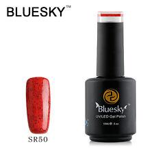 SR50 Bluesky Soak Off UV LED Gel Nail Polish Candy Apple Red Pepper