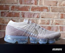 41c1b56828 Nike Womens Air Vapormax Flyknit String Chrome Sunset Glow 849557-202 Size  12