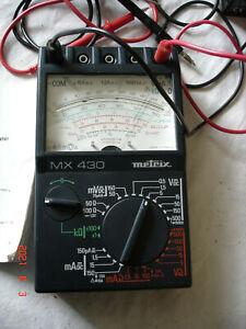 "Multimètre Professionnel ""METRIX MX430"" + Notice"