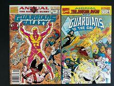 Guardians of the Galaxy Annual #1-2 Marvel Comics 1990 Jim Valentino Vol. 1