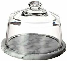 Norpro 348 Marble Cheese Board With Glass Dome