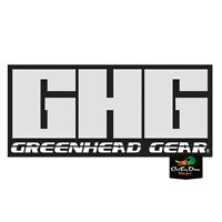 NEW AVERY GREENHEAD GEAR GHG LOGO TRAILER STICKER DECAL 6""