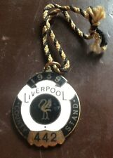 More details for 1939 grand national horse race aintree liverpool county stand  badge