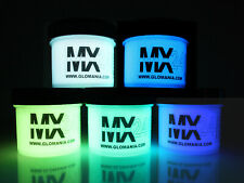 MX24 ULTRA Glo in the Dark Paint 1/2ozx5colors Daytime Invisible Free UV KEYRING