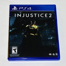 Replacement Case (NO GAME) Injustice 2 Playstation 4 PS4 Box