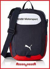 b65d3876af447 Borsa Borsello a Tracolla BMW Motorsport da Uomo Donna Unisex Blu 29 x 23 x  7