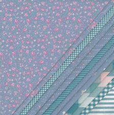Tessuto Fat Quarter 12x 48cm x 48cm Patchwork/STOFFA WESTFALEN Principessa Blu