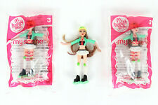 Lot of 3 My Scene McDonald's Happy Meal Chelsea Toy Girls Dolls 2 New in Package