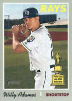 2019 Topps Heritage Baseball #211 Willy Adames Tampa Bay Rays