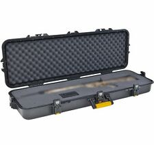 "46"" Gun Guard Plano All Weather Hard Case Rifle Single Tactical Storage Travel"