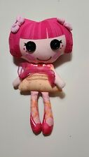 "10"" plush Lalaloopsy doll, good condition"