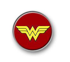 "WONDER WOMAN / 1"" / 25mm pin button / badge / DC Comics / movie / Justice League"