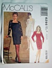 McCalls 6295 Ladies Evening Dress Sewing Pattern Size 16-18-20  New