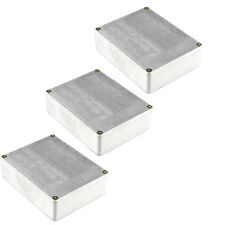 3 X 1590BB Aluminum Metal Stomp Box Case Enclosure Guitar Effect Pedal