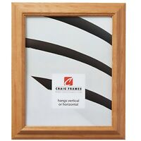 Craig Frames Wiltshire 521, Vermont Maple Brown Wood Picture Frame