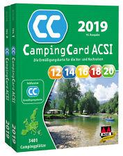 ACSI CampingCard 2019 Campingführer inklusive Ermäßigungskarte 2019