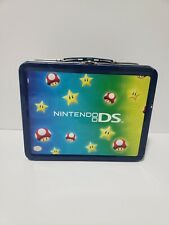 Nintendo DS Lunchbox Tin Super Mario Bros metal carrying case