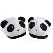 (USA) Home Slippers Cute Panda Style Soft Shoes Indoor Anti-slip Warm Slipper