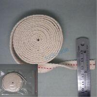 FLAT COTTON  OIL LAMP OIL LANTERN WICK  Width 1/2  inch , 5 FOOT ROLL  , NEW