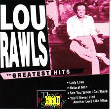 LOU RAWLS / GREATEST HITS * NEW CD * NEU *