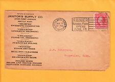 Seattle Washington Janitor Supply Co Polish Mops Milwaukee Brushes 1917 q10