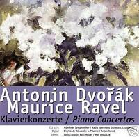 DVORAK / RAVEL Conciertos para piano (cd) Nuevo