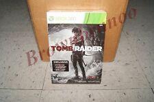 Tomb Raider Game w/ Aviatrix Skin, 48 Page Comic Book, Shanty Town Map Xbox 360