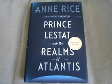 ANNE RICE SIGNED - PRINCE LESTAT AND THE REALMS OF ATLANTIS - First Edition NEW