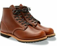 """Red Wing Men's Boots 6"""" Inch 9016 Beckman Round toe Cigar Featherstone Brown"""