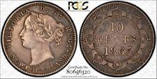 Newfoundland 1865 10c  PCGS XF 40