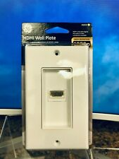GE 40659 High Definition HDMI Wall Plate 1080p TV InWall Installation HDTV+
