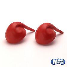 Playmobil ® piratas | enanos | marineros | caballero: 2 x gorra | zipfelmütze rojo